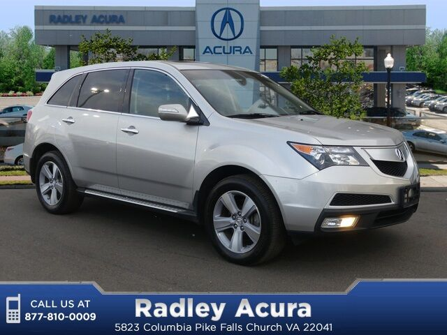 2012 Acura MDX Technology and Entertainment Packages Falls Church VA