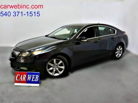 2012 Acura TL 6-Speed AT with Tech Package Fredricksburg VA
