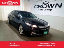 2012_Acura_TL_Elite Pkg/AWD/ accident-free history/push start button/back up cam/heated seats/navigation sys/sunroof_ Winnipeg MB
