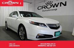 2012_Acura_TL_Elite/ SUNROOF/ LEATHER INTERIOR/ PUSH BUTTON START/ HEATED SEATS/BACK UP CAM_ Winnipeg MB