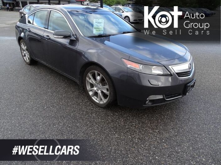 2012 Acura TL w/Elite Pkg Navigation, Heated Leather Seats, Sunroof Kelowna BC