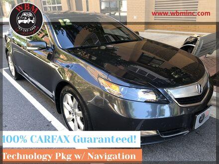 2012_Acura_TL_w/ Technology Package_ Arlington VA