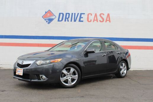 2012 Acura TSX 5-Speed AT Dallas TX