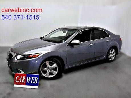 2012 Acura TSX 5-Speed AT with Tech Package Fredricksburg VA