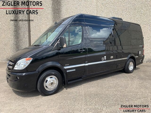 2012 Airstream Interstate RV Sprinter 3500 170' High Roof Extended Class B Motor Home Low miles High Sticker! Addison TX