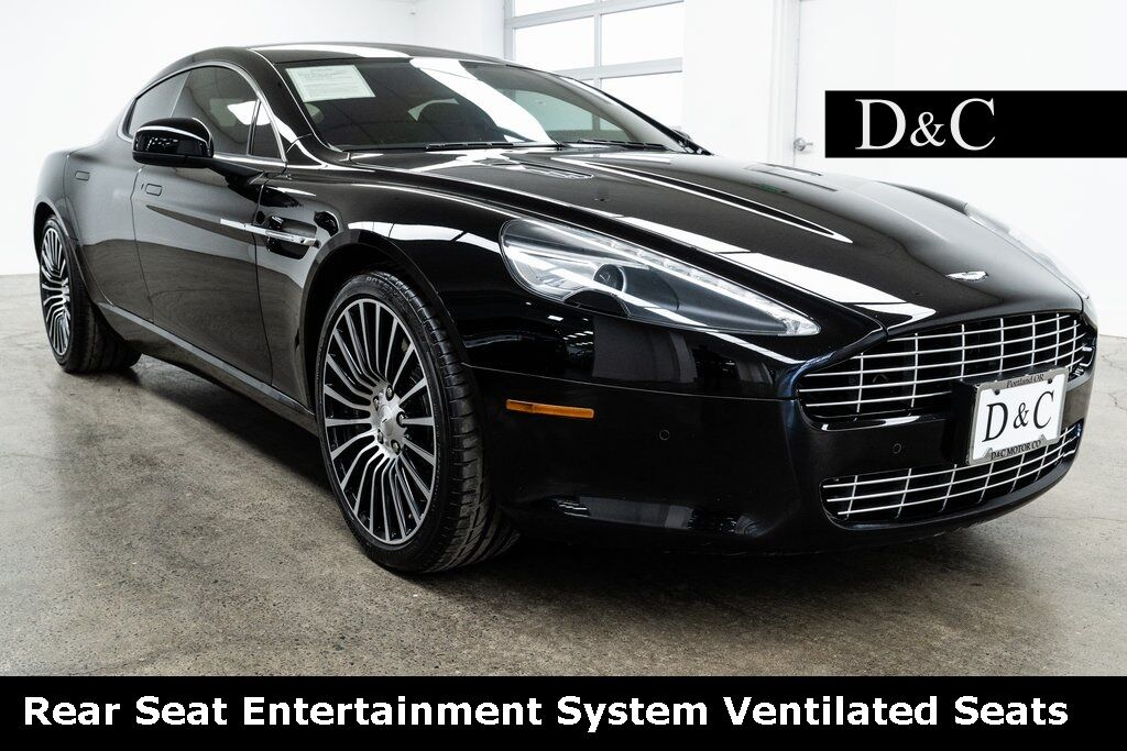 2012 Aston Martin Rapide Rear Seat Entertainment System Ventilated Seats Portland OR
