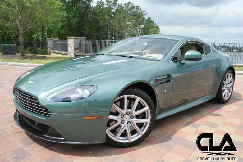 2012 Aston Martin V8 Vantage S The Woodlands TX