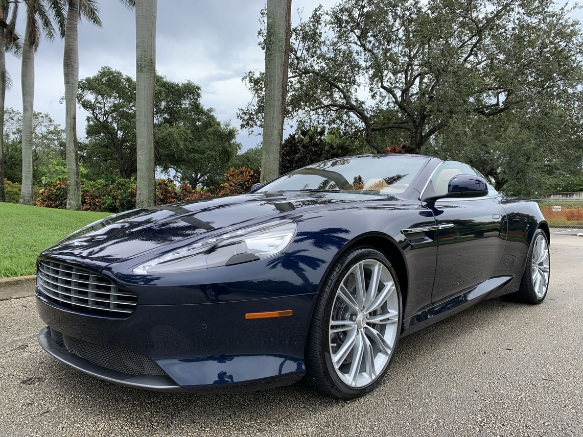 2012 Aston Martin Virage Volante Convertible 2D Hollywood FL