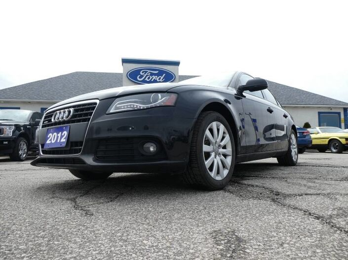 2012 Audi A4 2.0T- AWD- LEATHER- SUNROOF- LOADED Essex ON