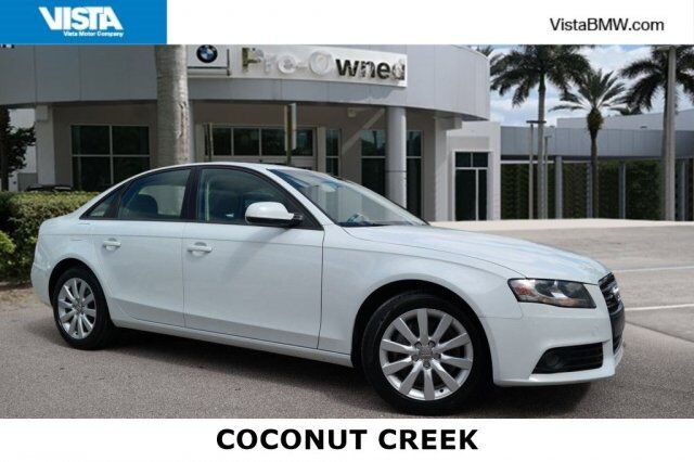 2012 Audi A4 2.0T Premium Coconut Creek FL