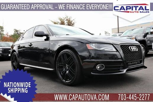 2012 Audi A4 2.0T Premium Plus Chantilly VA