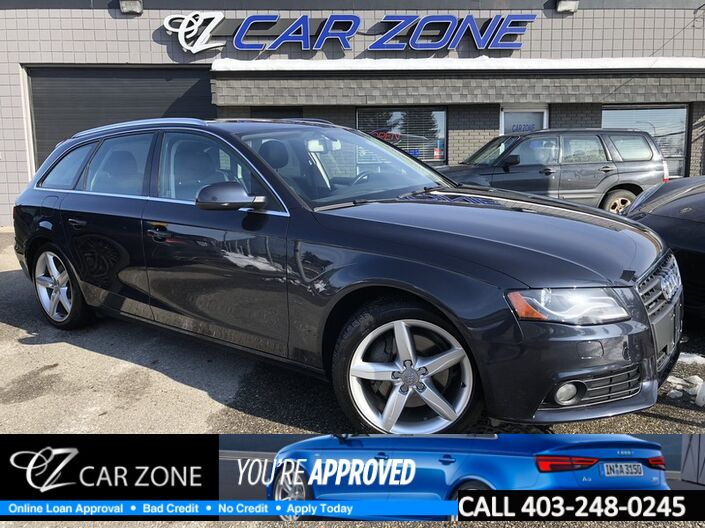 2012 Audi A4 2.0T Premium Wagon, Pano Roof, NO accidents Calgary AB
