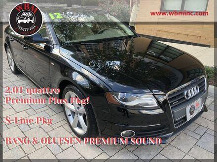 2012_Audi_A4_2.0T quattro w/ S-Line Package_ Arlington VA