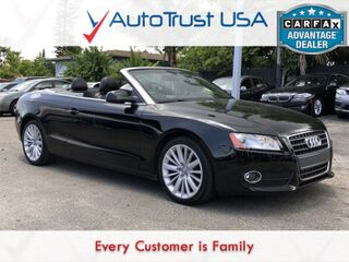 Audi A5 2.0T Premium FRONTTRAK LEATHER PREM LOW MILES CONV PKG 2012