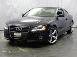 2012_Audi_A5_2.0T Premium Plus / 2.0L Turbocharged Engine / AWD Quattro / 2 Door Coupe / Sunroof / Navigation / Bluetooth Telephony_ Addison IL