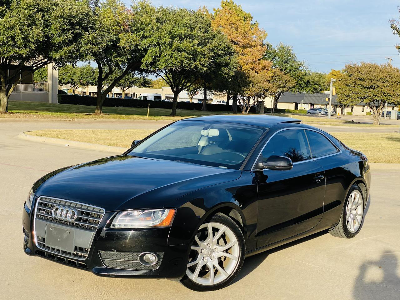 2012 Audi A5 2.0T Premium Plus 6 speed manual Dallas TX