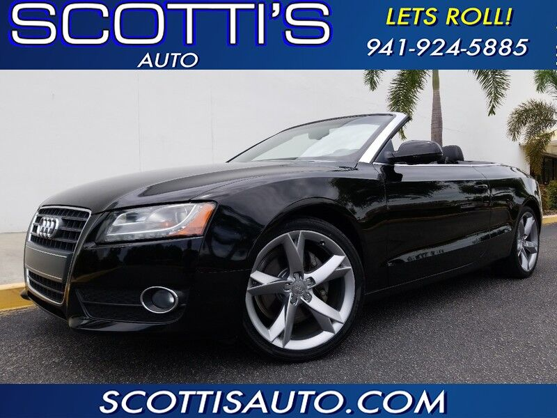 2012 Audi A5 2.0T Premium Plus~ CONVERTIBLE~ GREAT COLOR!~ CLEAN CARFAX~ FINANCE AVAILABLE!