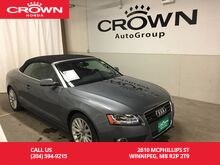 2012_Audi_A5_Premium Plus /LOW KM/LEATHER/HEATED SEATS/NAVIGATION/FULLY LOADED/_ Winnipeg MB
