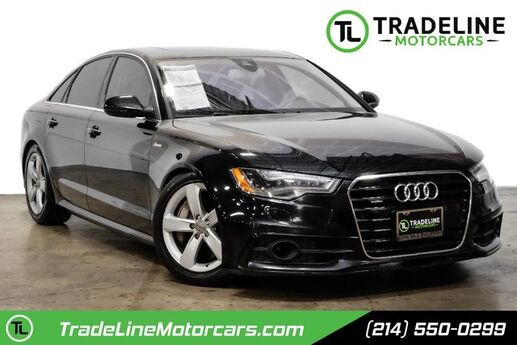 2012 Audi A6 3.0T Prestige LEATHER, REAR VIEW CAMERA, BLUETOOTH AND MUCH MORE CARROLLTON TX