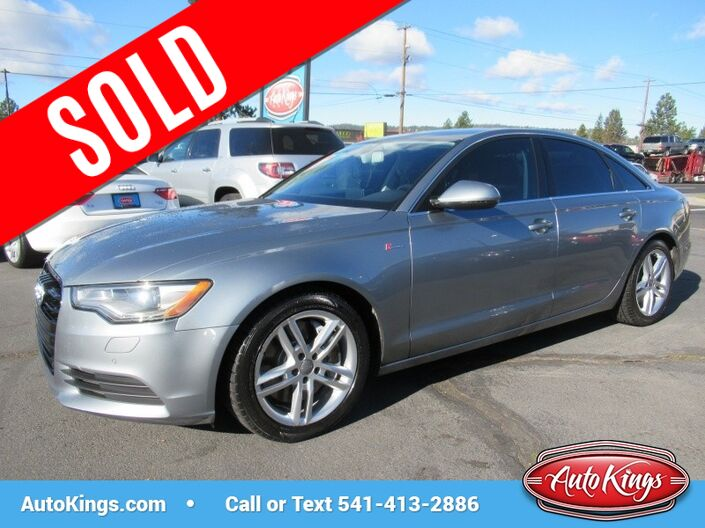 2012 Audi A6 Quattro 3.0T Premium Plus Bend OR