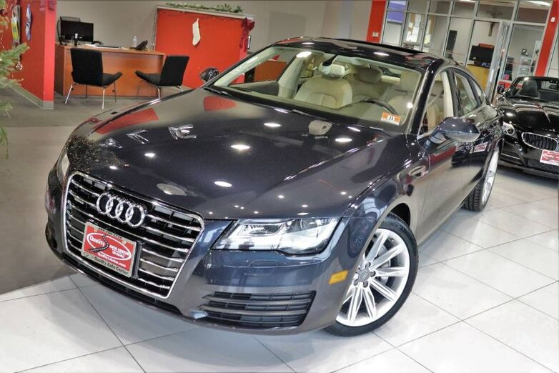 2012 Audi A7 3.0 Premium Plus Drivers Assist Cold Weather Package 1 Owner Springfield NJ