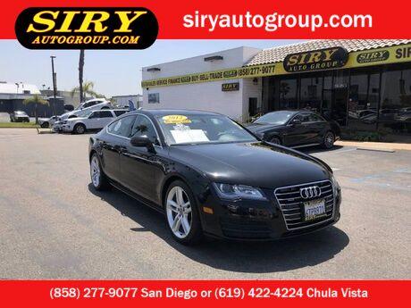 2012 Audi A7 3.0 Premium Plus San Diego CA