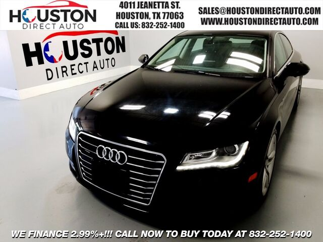 2012 Audi A7 Prestige Houston TX