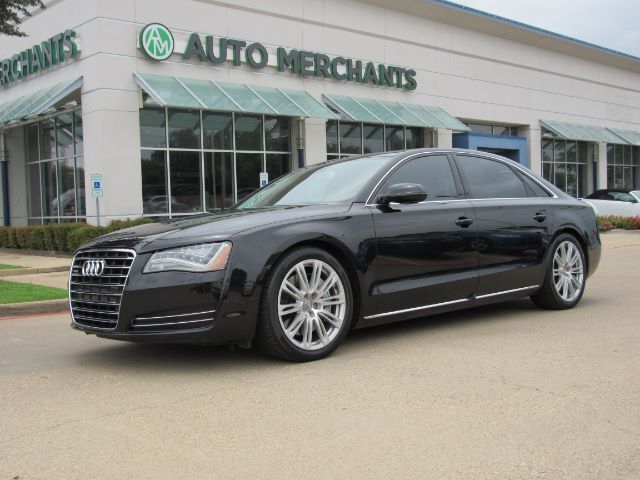 2012 Audi A8 4.2L quattro NAV, HTD/COOLED STS, SUNROOF, MASSAGE SEATS, BLUETOOTH, PARK AID, BACKUP CAM, KEYLESS Plano TX