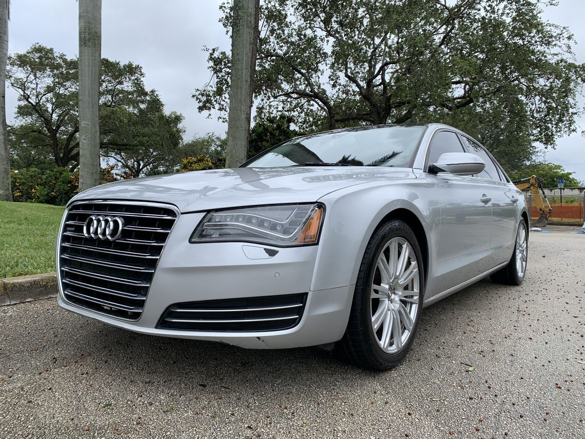 2012 Audi A8 L 4.2 Quattro Sedan 4D Hollywood FL