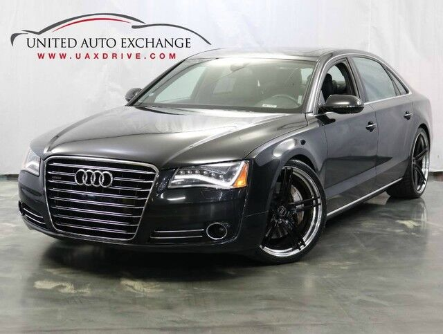 2012 Audi A8 L 4.2L V8 Engine / AWD Quattro / Sport / Navigation / Bluetooth / Sunroof / Night Vision / Rear Power and Climate Seats Addison IL