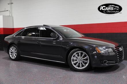 2012_Audi_A8 L_4dr Sedan_ Chicago IL
