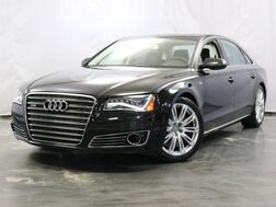 2012_Audi_A8 L_6.3L W12 Engine / AWD Quattro / Enhanced Leather Package / Bang & Olufsen Sound System / Night Vision / Quattro Sport Differential / Executive Rear Seating / Parking Sensors with Rear View CAmera / Sunroof / Navigation / Bluetooth_ Addison IL