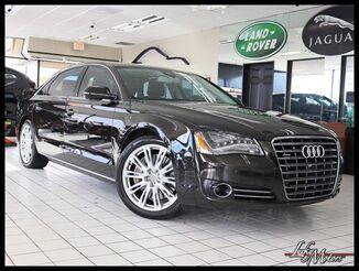 2012_Audi_A8 L_Quattro Premium / Driver Assist Pkg LED's 20's_ Villa Park IL