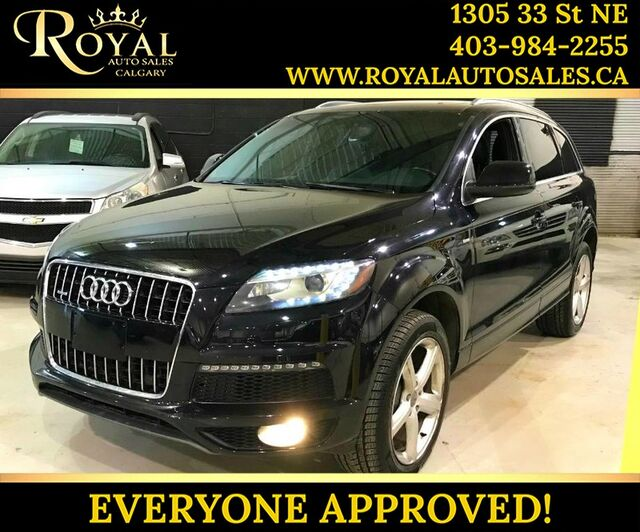 2012_Audi_Q7_3.0L Sport AWD LEATHER, PANO SUNROOF, BLUETOOTH_ Calgary AB