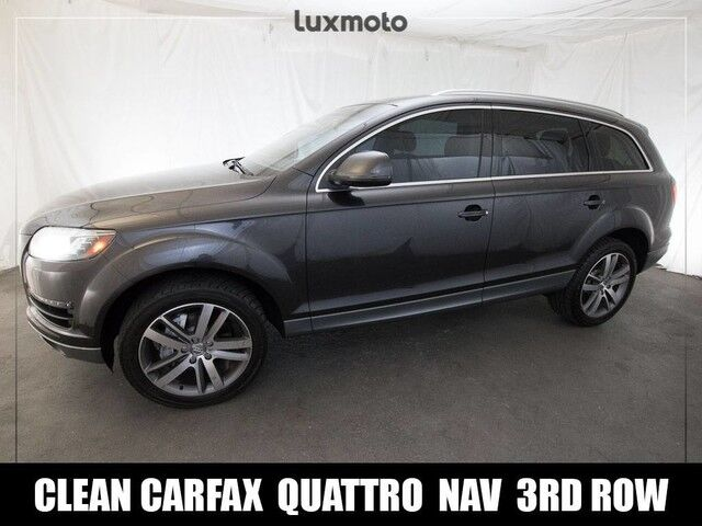 2012 Audi Q7 3.0T Premium Plus Quat. AWD 7-Pass Portland OR