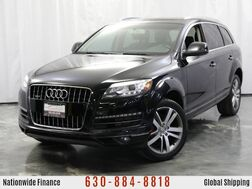 2012_Audi_Q7_Premium Plus / 3.0L Diesel Engine / AWD Quattro / Sunroof / Bluetooth / Navigation_ Addison IL