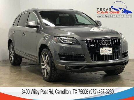 2012 Audi Q7 TDI QUATTRO PREMIUM PLUS NAVIGATION PANORAMA LEATHER HEATED SEAT Carrollton TX