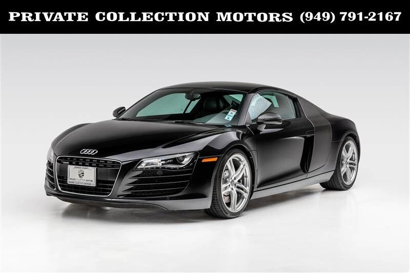 2012 Audi R8 4.2L Six Speed Manual Carbon Fiber Costa Mesa CA