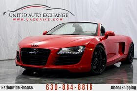 2012_Audi_R8_4.2L V8 Engine AWD Quattro **CONVERTIBLE** w/ Navigation, Front and Rear Parking Aid with Rear View Camera, Bang and Olufsen Sound System, Custom Exhaust_ Addison IL