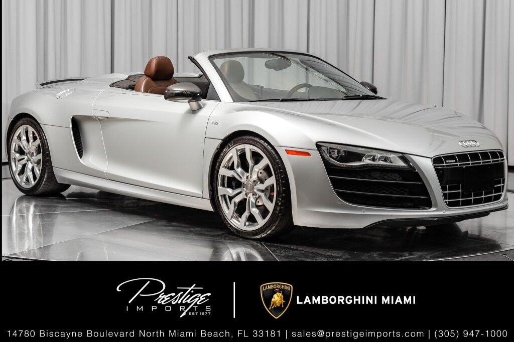 2012_Audi_R8_5.2L_ North Miami Beach FL