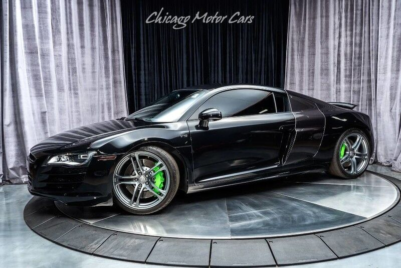 2012_Audi_R8 Coupe_5.2L_ Chicago IL
