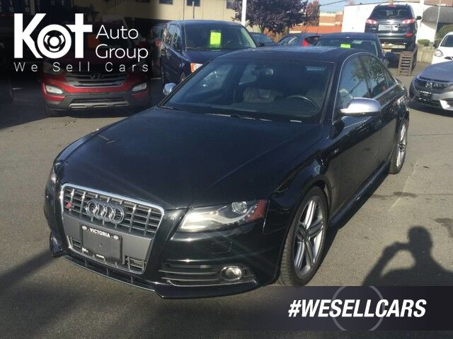 2012 Audi S4 Premium Plus Navigation, Sunroof  Kelowna BC