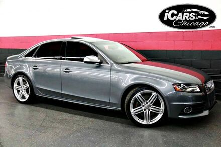 2012_Audi_S4 Prestige 6-Speed Manual_4dr Sedan_ Chicago IL