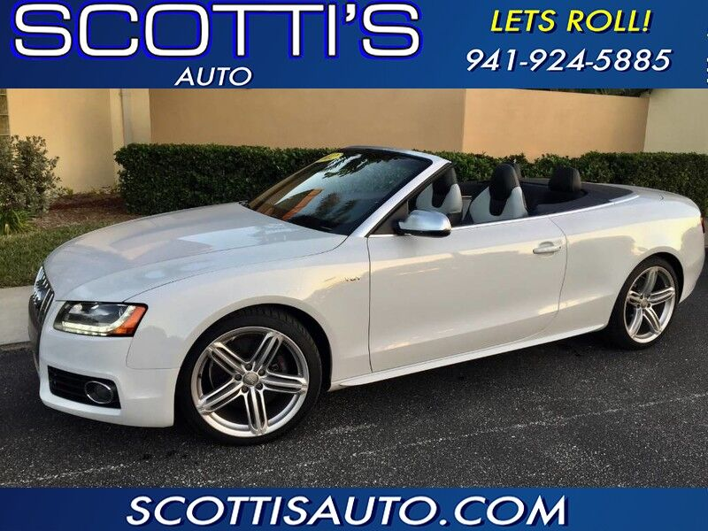 2012 Audi S5 CONVERTIBLE! PREMIUM PLUS! GREAT COLORS! SUPERCHARGED! FINANCE AVAILABLE!