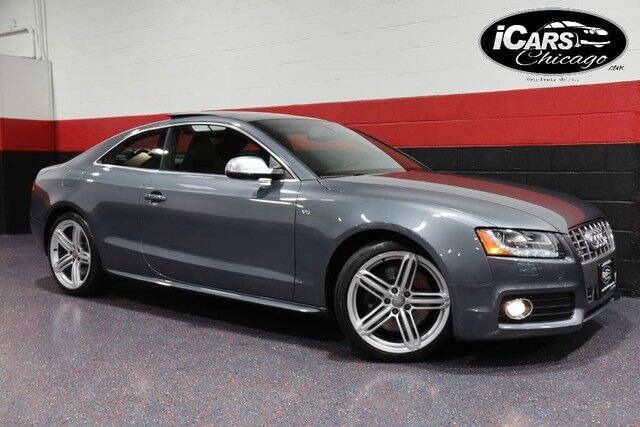 2012 Audi S5 Premium Plus 6-Speed Manual 2dr Coupe Chicago IL