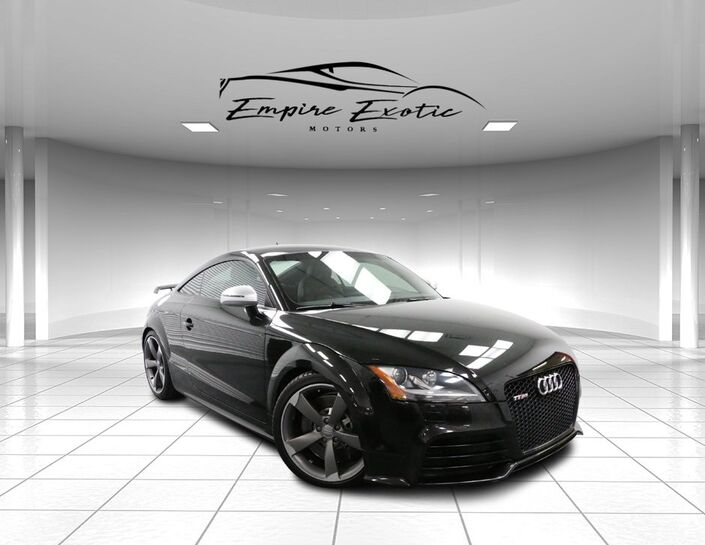 2012 Audi TT RS *SPORT EXHAUST* Addison TX