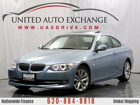 2012 BMW 3 Series 328i xDrive Coupe Manual Trans. With Navigation Addison IL