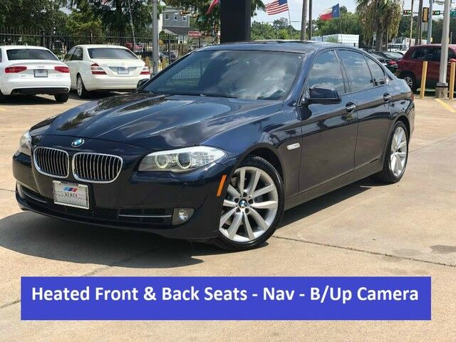 2012 BMW 5 Series 535i Houston TX