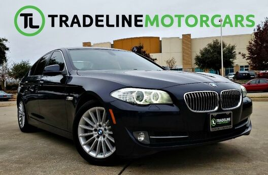 2012 BMW 5 Series 535i NAVIGATION, SUNROOF, SPORT MODE, AND MUCH MORE!!! CARROLLTON TX