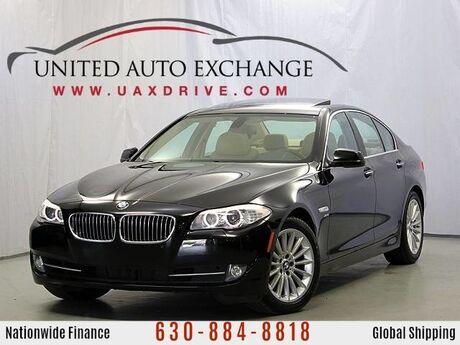 2012 BMW 5 Series 535i xDrive AWD w/ Navigation System, Bluetooth Connectivity, Power Sunroof, Front and Rear Parking Aid with Rear View Camera Addison IL